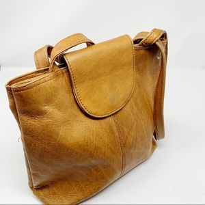 Nino BOSSI Leather Tote Bag